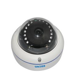 Canada Original ESCAM Q645R ONVIF 720P Caméra réseau IR Dome H.264 Caméra IP sans fil P2P IP66 Caméra Web étanche cheap ir dome outdoor cameras wireless Offre