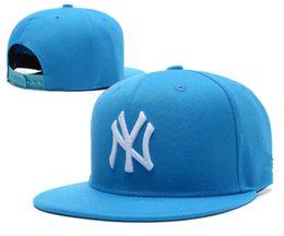 Wholesale classic brand hats - 2018 new brand ny Long brim Baseball cap LA dodge hat classic Sun hat spring&summer casual fashion outdoor sports bone baseball cap
