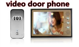 "Wholesale Door Phone Night Vision - Color video door phone with 8"" TFT LCD screen DP-888 with CMOS 700 TVL auto night vision outdoor camera"