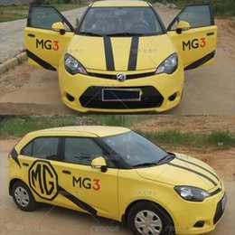 Wholesale Mg3 Car Stickers - Mg3 car stickers garland mg3 decoration stickers body color of mg5 mg6 garland color