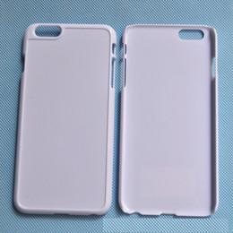 Atacado diy sublimação em branco caso de plástico rígido para o iphone 6 plus 5.5 inch frete grátis 1000 pçs / lote de Fornecedores de maçãs de plástico ao atacado