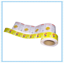 Wholesale Stickers Paper Roll - New arrival products package roll sticker full color customized paper label sticker