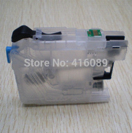 Wholesale Ink Dcp - For Brother DCP-J4110DW J132W J152W J552DW J752DW printer LC123 LC127 LC125 refillable Ink cartridge with ARC chips