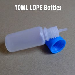 Wholesale Ego Fedex - eGO LDPE 10ml Plastic Dropper Bottles with Colorful Childproof Caps and Long Tips Needle Bottle for E Cigarettes Liquid 10ml Fedex Free