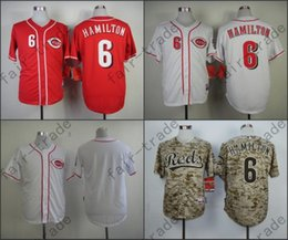 Wholesale Discount Baseball - Billy Hamilton Jersey, Stitched Cincinnati Reds Jerseys Red White Discount