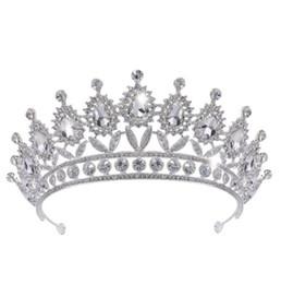 Wholesale Make Fairy Hair Accessories - Princess Bling Rhinestone Wedding Crowns Headpieces Wholesale 2018 Silver Crystal Hand Made Bridal Tiaras Headbands Hair Accessories