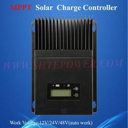 2019 power inverter geführt ce rohs genehmigt gebaut in lcd auto arbeitsspannung 12 v 24 v 48 v 60 a solarladeregler mppt