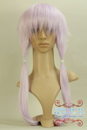 Wholesale Lavender Cosplay Wig - Wholesale free shipping >>>>Vocaloid3 Library Fashion Lavender Long Cosplay Hair Wig