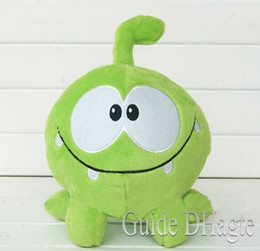 Wholesale Frog Soft Toy - 18cm om nom frog plush cut the rope Soft rubber cut the rope figure classic toys game