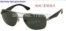 Wholesale High Quality Throws - 3483 high quality explosion-proof anti-throw toughened glass sunglasses trend of men and women sunglass