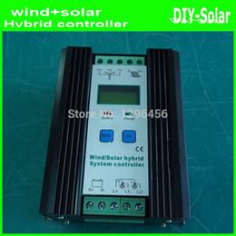Wholesale Solar Panel Hybrid - 450W MPPT wind solar hybrid controller 12V 24V, 300W Wind Turbine+150W Solar Panel 12V 24V Intelligent Hybrid Charge Controller