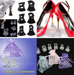 Wholesale Shoes For Weddings Wholesale - High Heel Protector Latin Stiletto Dancing Covers Heel Stoppers Antislip Silicone Protectors for Wedding Party