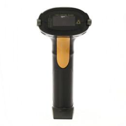 Arma de scanner de código de barras usb on-line-2014 New Arrival Preto Longo USB Laser Handheld Barcode Scanner Leitor de Código de Barras Gun para POS Leitor de Código de Barras