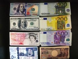 Wholesale Door Open - Creative Money Door Stopper Euro Japanese yen pounds US Dollar Canvas Wallets Creative small purse Bank card wallet 3pcs lot