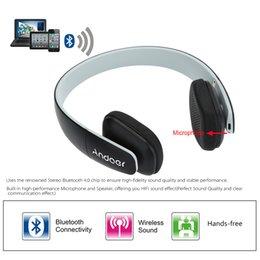 Andoer F1 Over-the-head Беспроводная Bluetooth 4.0 Наушники для наушников Стереофокусная гарнитура с микрофоном для iPhone Samsung LG HTC от