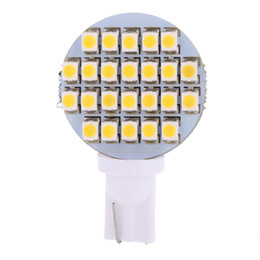 Wholesale 24 Trailer - 2015 Top Fashion New Arrival Automobiles Parking Xenon Car Auto T10 921 194 24 Smd Led Light Bulb Side Wedge Trailer Interior 12v Warm White