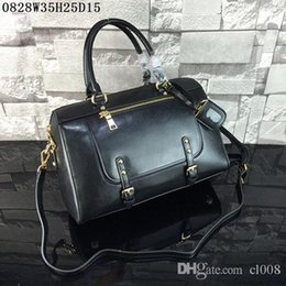 Wholesale American Advance - Latest women Shoulder Bags Waxed leather Large volume casual shoulder bags good quality leather advanced antirust hardware cost prices sale