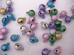 Wholesale 8mm Stardust Beads - 100 Stardust JINGLE BELLS Beads Charms 8mm