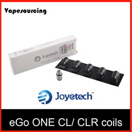 Wholesale Ego Mini Starter Kits - Joyetech replacement coils eGo ONE CL Coil CLR Coil 0.5 1.0ohm Atomizer Head for Ego One Mini Mega Starter Kits