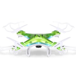Wholesale Wholesale Professional Rc - Drone With 2.0MP HD Camera JJRC H5P 2.4G 4CH 6Axis 1100mAh Battery RC Quadcopter RTF Professional Dron VS syma x5c-1 c5c