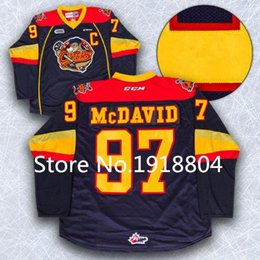 Wholesale 2016 New Edmonton Oilers Connor McDavid Erie Otters Premier OHL ICE Hockey Jersey With COA