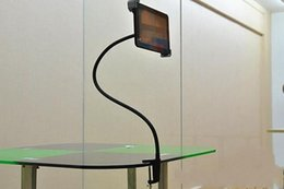 Wholesale Tablet Flexible - Gooseneck Flexible Long Arm Seat Desk Bolt Clamp Mount Bracket Holder with 360 Degrees Easy-Adjust For Ipad Tablet PC