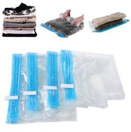 2019 sacchetti di risparmio spazio per sigilli di vuoto 5 PC molto Laminati a mano Spazio compresso Vacuum Seal Saver Storage Travel Bag Compression Space Saver sconti sacchetti di risparmio spazio per sigilli di vuoto