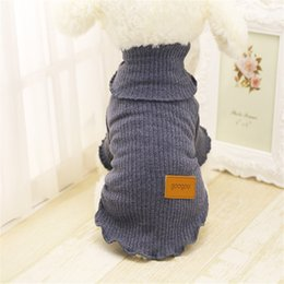 Wholesale Pet Pajamas Large - Autumn Winter Shirts For Small Dogs For Celebration Or Wedding Pajamas Puppy Outfits Pet Clothes