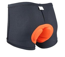 Wholesale Thick Underwear Pads - SUPER thick very comfortable Professional Cycling Underwear Shorts with Coolmax 3D Pad chamois Bicycle Silicagel Underwear Under shorts