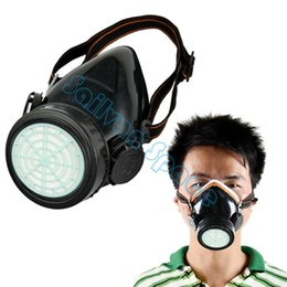 Wholesale Dust Chemical Respirator - New Arrival Anti-Dust Safety Paint Spray Industrial Chemical Gas Mask Respirator Dropshipping B11 TK0856