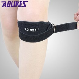 Wholesale Fitness Sliders - Knee Sliders Band Adjustable Patella Support Pads for Fitness Running Basketball Men Women Sports Safety Kneecap