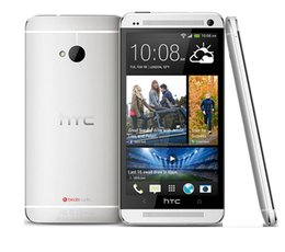 Wholesale One M7 Phones - Refurbished Original HTC ONE M7 801e Unlocked Mobile phone Quad-core 4.7'' Touch Screen Android 2GB RAM 32GB ROM smartphone