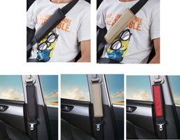 Discount black seat belts - 1PC High Quality Genuine Leather Lengthen Car Auto Seat Belt Cover Shoulder Pads 3 Colors
