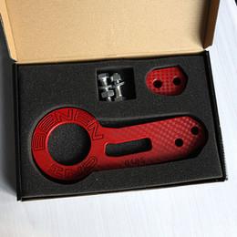 Wholesale Race Brake Pads - JDM Racing Billet Aluminum CNC Rear Tow Hook Towing Kit For Honda Mazda Toyota