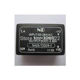 Wholesale Inverters Wholesale - 5pcs AC-DC converter Inverters 220V to 9V 5W ac dc Power module NA05-T2S09-V Free shipping order<$18no track