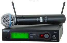 Wholesale audio wireless microphone - High quality Wireless Microphone With Best Audio and Clear Sound Gear Performance Wireless Microphone DHL Free Shipping