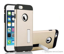 Wholesale Sgp For Iphone5 - New Tough Armor for iphone 6s case iphone5 with stents SGP Slim Armor Case Samsung Note5 Shockproof Antiskid Shell Case For Samsung S6