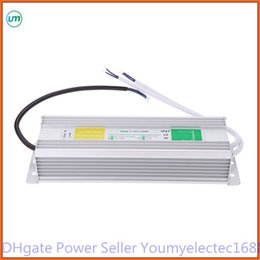 Wholesale Electronic Transformer For Led - 60-80-100W AC to DC 12V Waterproof IP67 Electronic Driver outdoor use power supply led strip transformer adapter for underwater light
