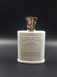Wholesale new mountain - Brand New Perfumes Cologne Creed Sliver Mountain Water For Men 120ml Cologne By Creed Edp Spray Free Shipping