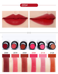 Wholesale Ladies Lip Gloss - 16 color bright ladies with lip gloss rose pumpkin color lipstick cosmetics wholesale free shipping