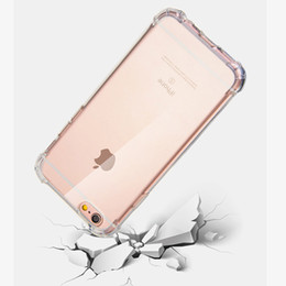 Wholesale Iphone Logo - Air Sac Case For iPhone X 8 7 6 6s Plus Samsung Galaxy S8 Plus Note 8 TPU Protective Cover Balloon Drop Anti Knock Custom Logo