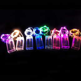Wholesale Bend Homes - Wholesale- 2M 20 LED Copper Wire Silver String Bend 2AABattery Home Patio Decor Bright
