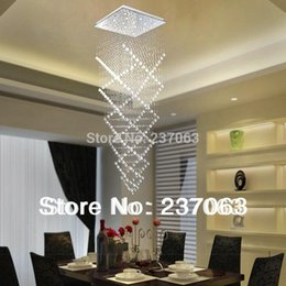 Wholesale Crystal Decorative Items - Free shipping new item modern chandelier crystal spiral design lustre decorative home stair light