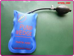 Wholesale Klom Picking Gun - Original Klom Small size air wedge Air pump wedge Inflatable Unlock tool Pump air wedge,Pump small air wedge,Small size Blue Color