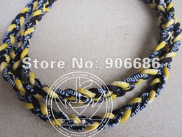 Wholesale Three Ropes Tornado Sports Necklace - Wholesale-free shipping , three ropes tornado necklace; energy necklace, sport necklace ,50 pcs lot.free shipping