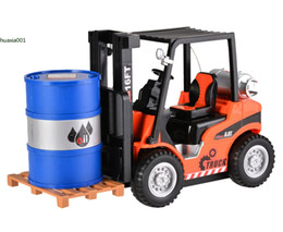 Wholesale Scale 16 - New 1 : 16 Scale 6.8t Forklift Truck Wireless Remote Control Warehouse Truck Children Toys