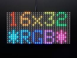 Wholesale Smd Led Dual Color - 2016 New Arrival Sale Plastic+pbc+led Hub75 1920hz Led Rgb 64*32 Pixels Indoor Full Color Modules Video 32x32 64x32 P5 P6 Dual Panels Smd
