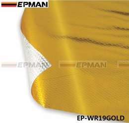 EPMAN alta calidad AUTOADHESIVO REFLECT-A-GOLD HEAT WRAP BARRIER alta calidad 39in.x 47in.Piece EP-WR19GOLD desde fabricantes