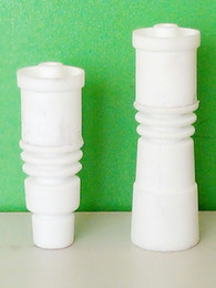 Wholesale E 14 - 14 18mm Highly Educated CERAMIC Domeless E-Nail Nail for 20mm Enail Coil
