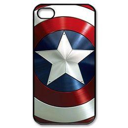 "Wholesale Avengers Iphone 4s Case - captain america shield avengers customized fashion design for iphone 6 case 4.7"" plus 5.5"" for iphone 4 4s 5 5s 5c Back cover case 10282"